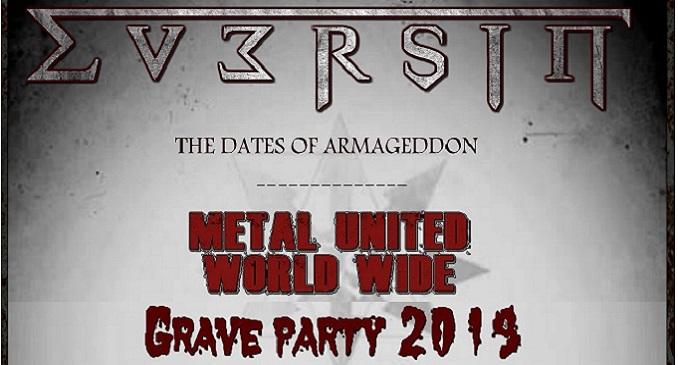 Eversin - Confermati al Metal United Worldwide Metal Fest e al Grave Party Metal Fest