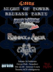 Flashback Of Anger - Dream Warriors - Capitani @ Circus Club - Scandicci (FI)