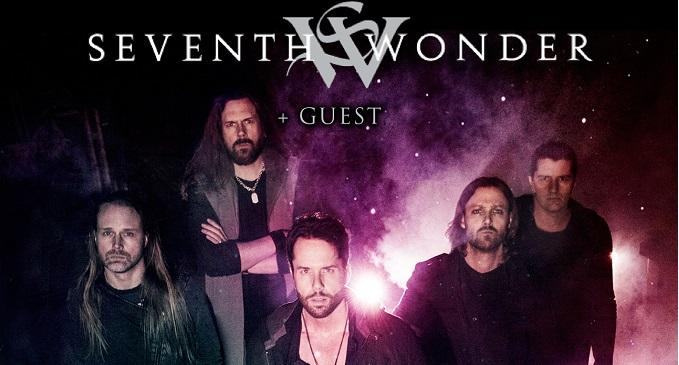 Seventh Wonder - Tre date in Italia ad Aprile