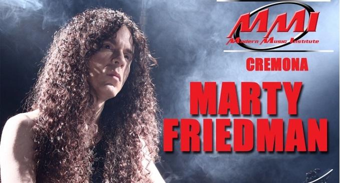 Marty Friedman - Data a Cappella Cantone (CR) il 19 Marzo