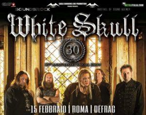 White Skull @ Associazione Defrag - Roma