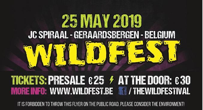 WildFest - Il 25 maggio la quarta edizione del festival in Belgio