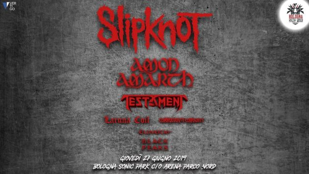 BOLOGNA SONIC PARK - Cambio band nella giornata degli Slipknot
