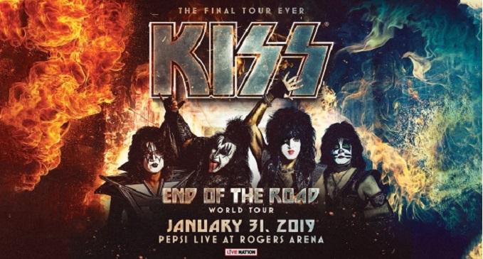 Kiss - Iniziato ieri sera 'End Of The Road' tour da Vancouver, Canada. On line alcuni filmati dei fan