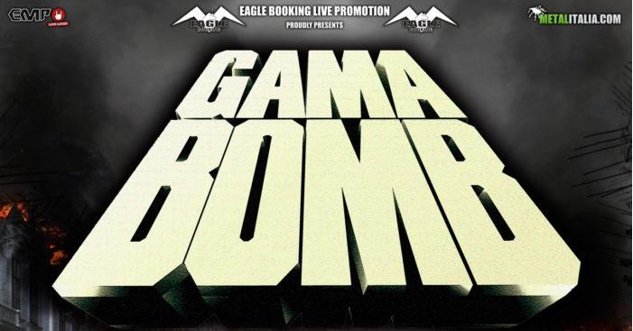 Gama Bomb - Iniziato il conto alla rovescia per il doppio appuntamento in Italia