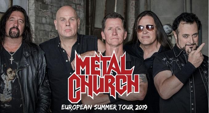 Metal Church - Annunciate le date del tour 2019