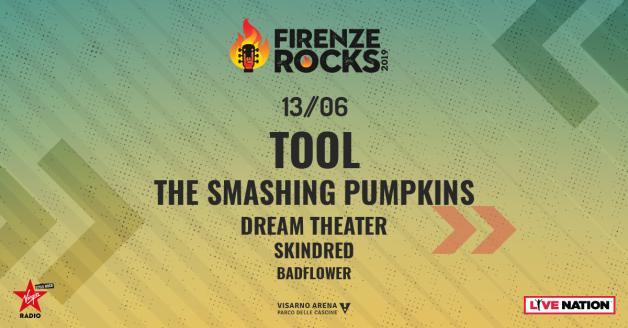 locandina Firenze Rock 2019