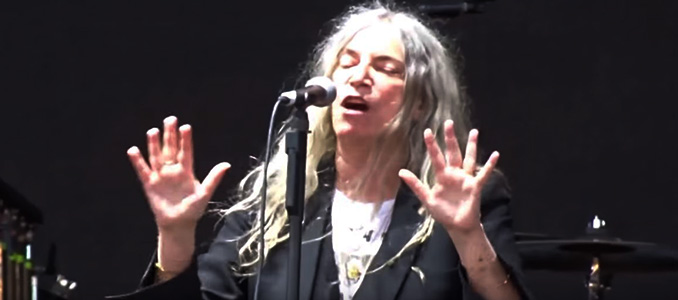 Patti Smith: in Italia in concerto a Taranto