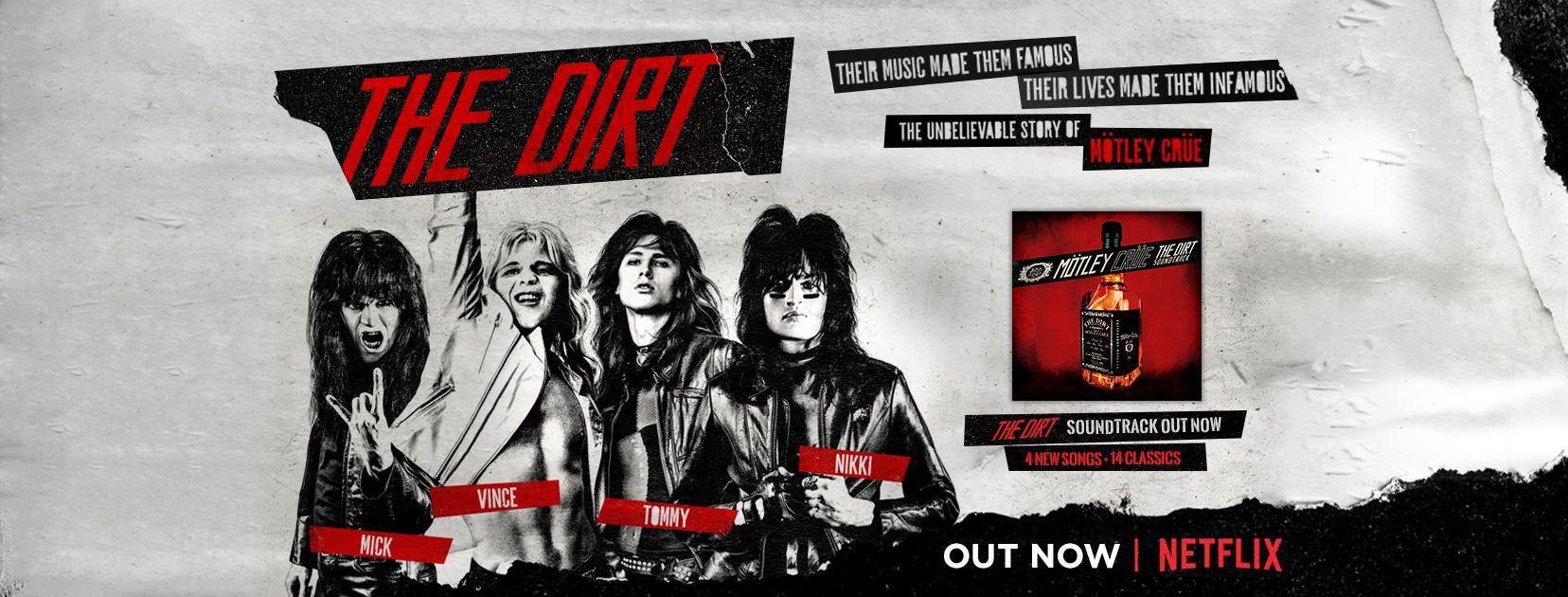 Il Rock torna nelle classifiche americane grazie ai film sui Motley Crue e Queen