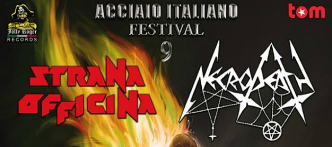 Acciaio Italiano Festival, oggi a Mantova il meglio dell'heavy metal italiano con Strana Officina, Necrodeath e altri