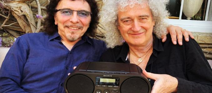 Una probabile collaborazione tra Iommi dei Black Sabbath e Brian May dei Queen? Al lavoro insieme!