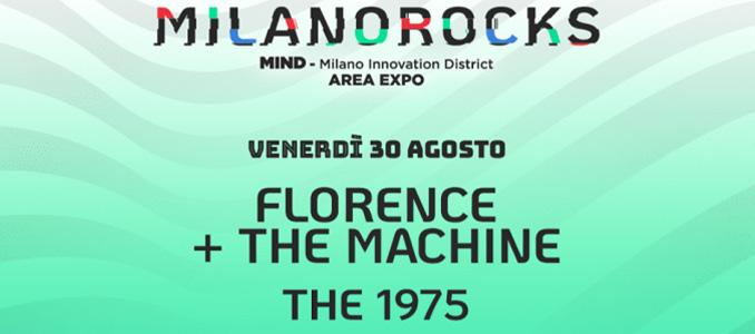 MILANO ROCKS: line up del 30 e 31 agosto e info biglietti