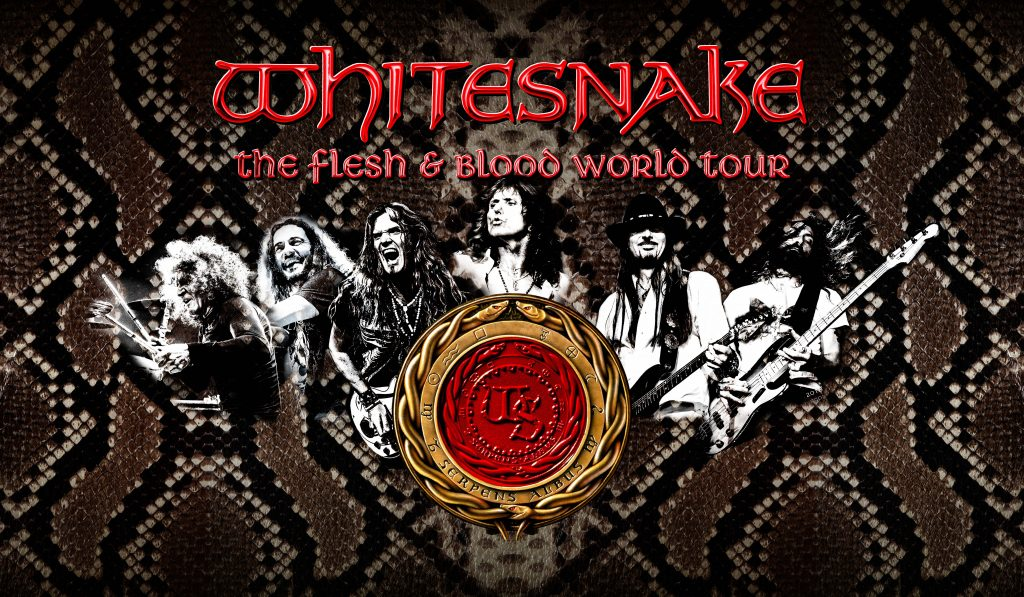"Whitesnake: in streaming la nuova canzone ""Hey You…You Make Me Rock"""