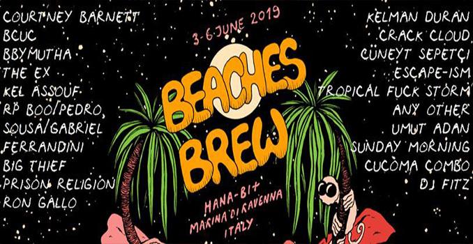 Beaches Brew 2019, a Marina di Ravenna 4 giorni di festival sulla spiaggia. Il programma