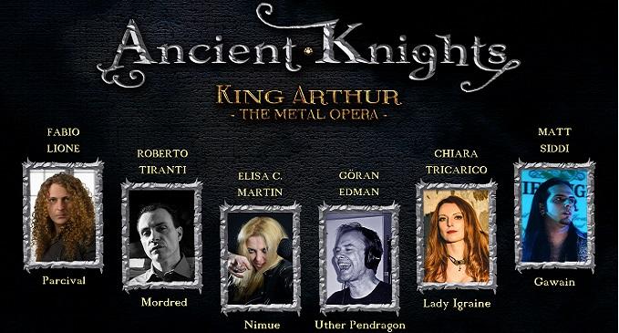 Ancient Knights - Album in Autunno: 'Camelot'. Ecco i dettagli