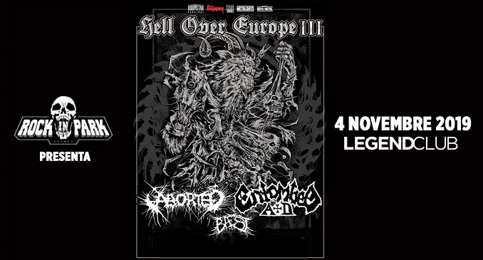 Hell Over Europe III - A Novembre Entombed AD e Aborted a Milano