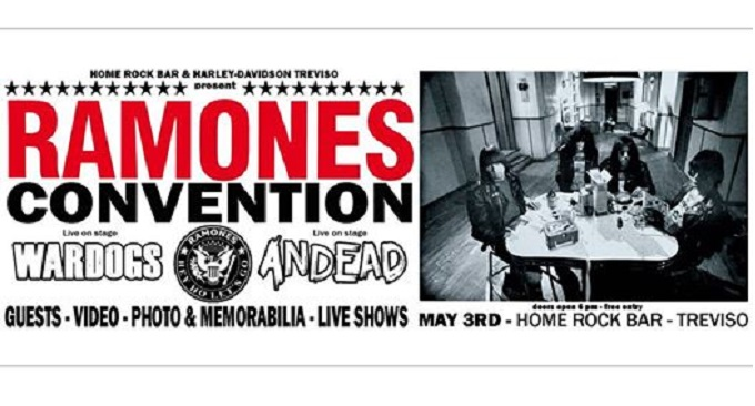 Ramones Convention domani all'Home Rock Bar di Treviso