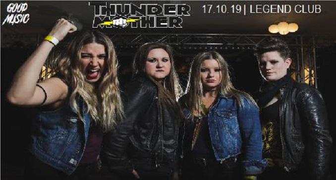 Thundermother - Ad Ottobre a Milano