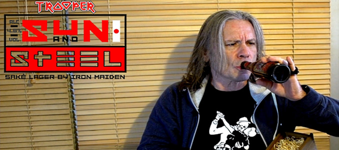 BRUCE DICKINSON presenta la birra degli Iron Maiden al Saké!