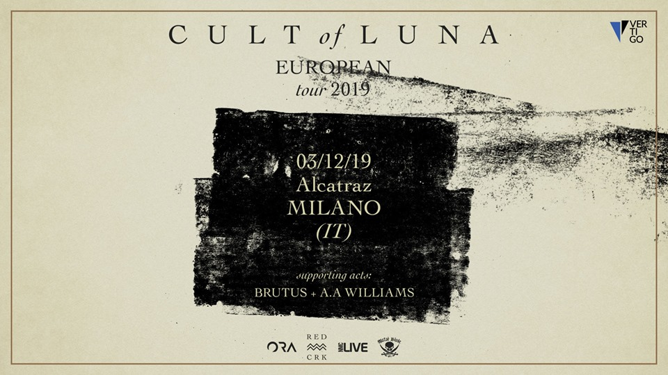 CULT OF LUNA - Unica data a Dicembre
