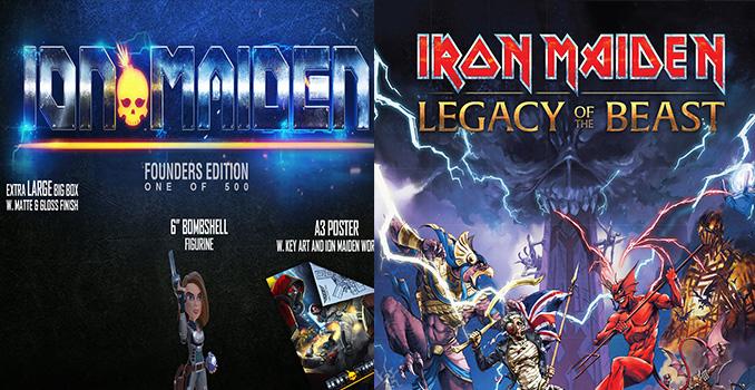"""Gli IRON MAIDEN fanno causa per 2 milioni di dollari contro un videogame chiamato """"Ion Maiden"""""""