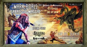 Mark Boals + Elegy of Madness + Insomnia @ Let It Beer, Roma