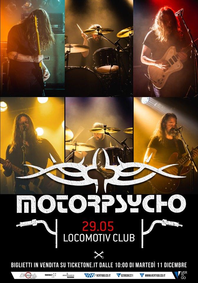 MOTORPSYCHO @ BOLOGNA, Locomotiv Club