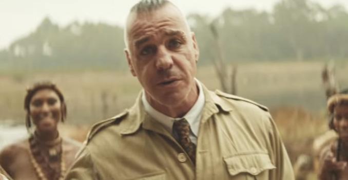 """RAMMSTEIN: online il video coloniale di """"Ausländer"""""""