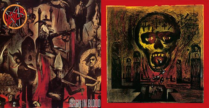 SLAYER: E' morto lo storico illustratore delle cover di Reign In Blood, South Of Heaven e Seasons In The Abyss