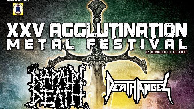 AGGLUTINATION METAL FESTIVAL: Il bill completo con Napalm Death e Death Angel. Info biglietti e orari