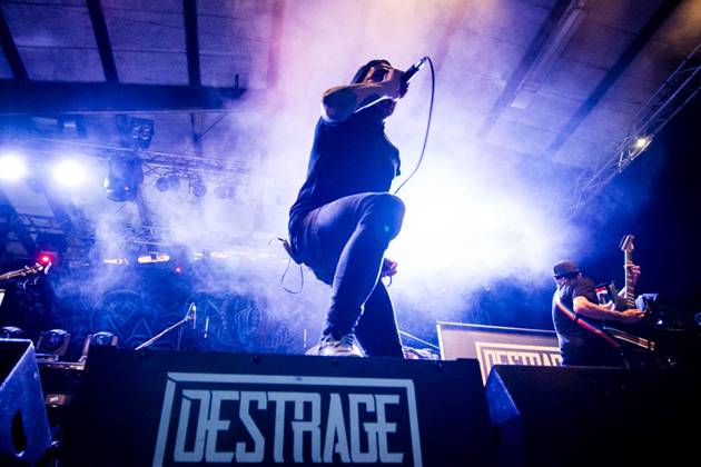 DESTRAGE - Con gli Anthrax al Metal For Emergency