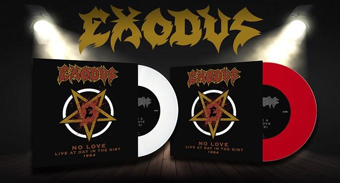 Exodus - 40° anniversario con la pubblicazione del singolo in vinile colorato: 'No Love (Live At Day In The Dirt 1984)'