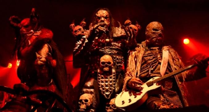 Lordi - Video dal vivo dal DVD 'Recordead Live - Sextourcism In Z7'
