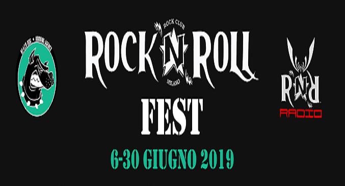 Rock'n'Roll Fest - Nel Mese di Giugno dal Giovedì alla Domenica al Rock'n'Roll Club di Milano
