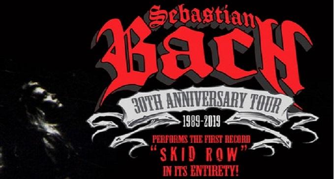 Sebastian Bach - Suonera' per intero l'album di debutto degli Skid Row