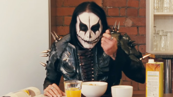 Dani Filth sul palco con i Bring Me The Horizon, video