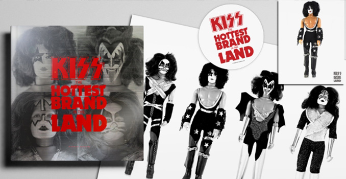 KISS: la storia del loro merchandising in un libro in uscita quest'estate