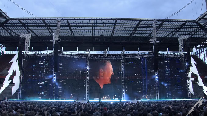 "I Metallica suonano ""No Leaf Clover"", il live video ufficiale da Colonia"