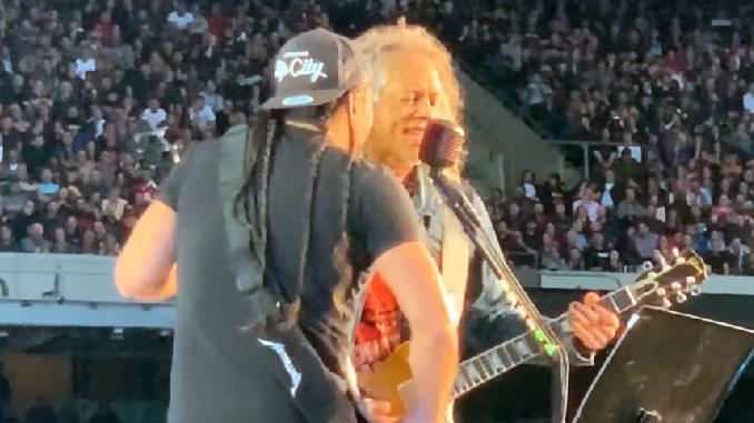 """I Metallica suonano """"Killers"""" degli Iron Maiden nel concerto di Londra. Il video"""