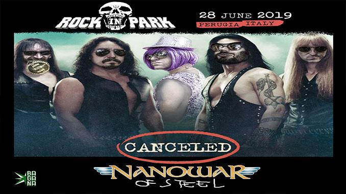 I NANOWAR OF STEEL come i Manowar: cancellano la data di stasera al Rock In Park. Tutte le date del Canceled Tour