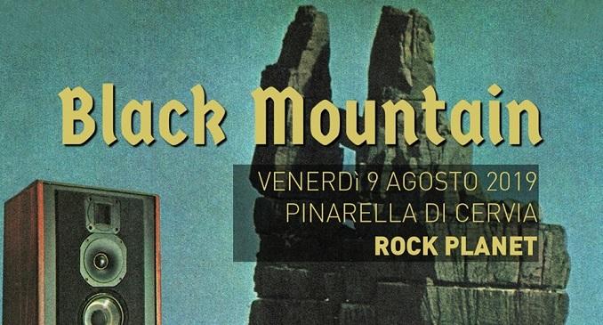 Black Mountain - Ad agosto unica data a Pinarella di Cervia