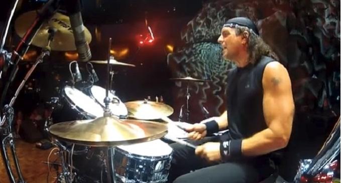 Bobby Rock - Buon Compleanno al batterista dei Vinnie Vincent Invasion, Hardline & more...