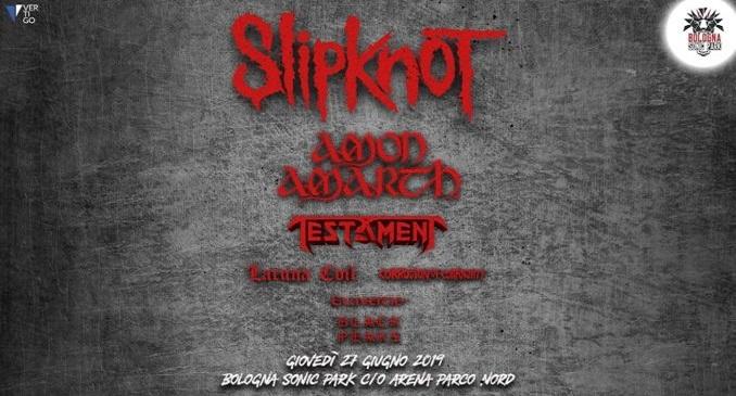 Sonic Park - Il Live Report del festival con Slipknot, Amon Amarth, Testament, Lacuna Coil & more... Bologna, 27 giugno 2019