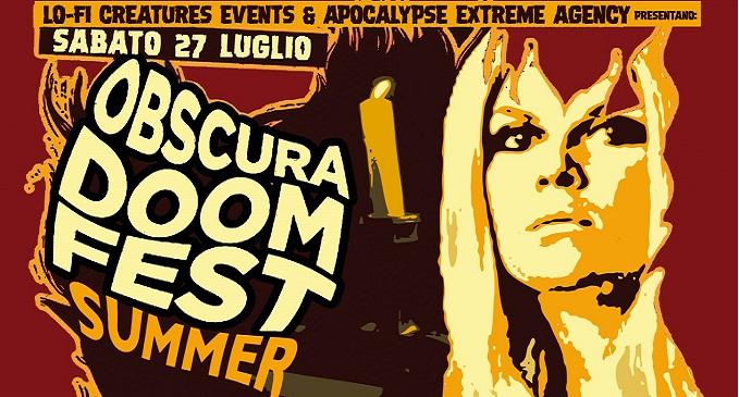 Obscura Doom Fest a fine luglio a Parma con i Coven come headliner (prima volta in Italia)