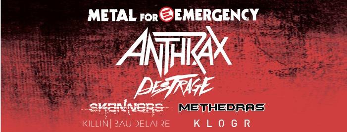 METAL FOR EMERGENCY - Tutti gli orari della giornata