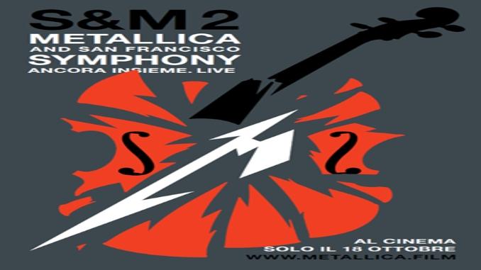 """Metallica: """"S&M²"""" ad ottobre al cinema in Italia"""