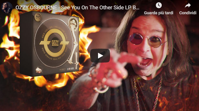 OZZY OSBOURNE: un box set con 16 album, 24 vinili e 173 canzoni dalla modica cifra di 559,97 euro