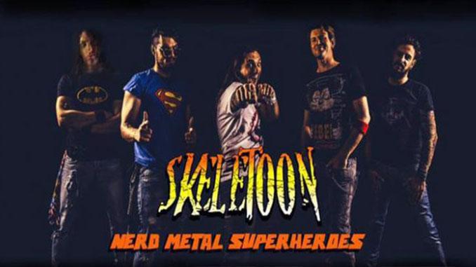 SKELETOON: in concerto in Italia a ottobre al Dagda Live Club di Retorbido (PV). Sconto cosplayer alla cassa!