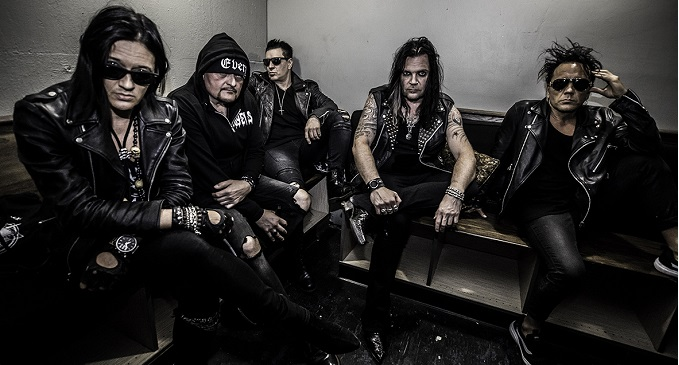 The 69 Eyes - Terzo video on line dal nuovo 'West End': 'Black Orchid'