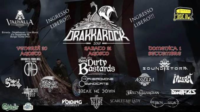 Drakkarock 2019, tutte le info sul festival Metal Open Air di Borgo Ticino (NO)